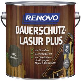 RENOVO Holzschutz-Lasur »PLUS«, Ebenholz