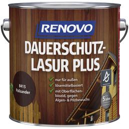 RENOVO Holzschutz-Lasur »PLUS«, für außen, 4 l, Palisander