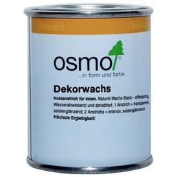 OSMO Holzwachs, für innen, 0,125 l, weiß, seidenmatt