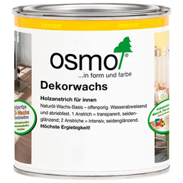OSMO Holzwachs, für innen, 0,38 l, Ebenholz, seidenglänzend