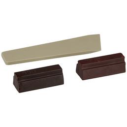 BONDEX Holzwachsstange, 0,02 kg, mahagonifarben, 2 Stück, inkl. Spachtel