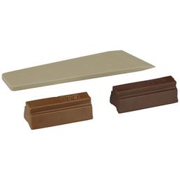 BONDEX Holzwachsstange, 0,02 kg, nussbaumfarben, 2 Stück, inkl. Spachtel