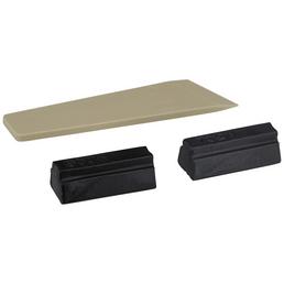 BONDEX Holzwachsstange, 0,02 kg, schwarz, 2 Stück, inkl. Spachtel