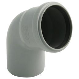 MARLEY HT-Bogen, bis max. 90 °C, Polypropylen (PP), Stärke: 1,8 mm, DIN EN 1451-1