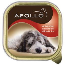 apollo Hunde Nassfutter, 22 Schalen à 150 g