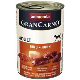 GranCarno® Hunde-Nassfutter »Adult«, Rind/Huhn, 400 g