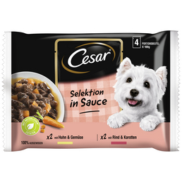 CESAR Hunde Nassfutter »Cesar«, 13 Packungen