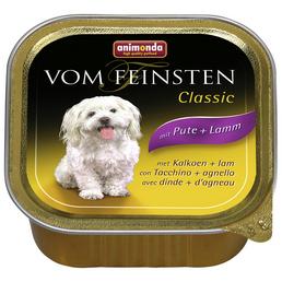 VOM FEINSTEN Hunde-Nassfutter »Classic«, Pute/Lamm, 150 g