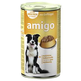 Amigo Hunde-Nassfutter, Geflügel, 1240 g