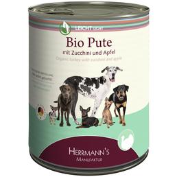 HERMANNS MANUFAKTUR Hunde Nassfutter »Leicht«, 6 Dosen à 800 g
