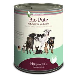 HERMANNS MANUFAKTUR Hunde Nassfutter »Leicht«, Pute / Apfel, 6x800 g