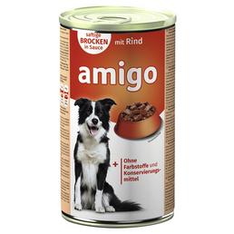 Amigo Hunde-Nassfutter, Rind, 1240 g