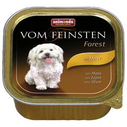 animondo Hunde Nassfutter »Vom Feinsten«, Hase, 22x150 g