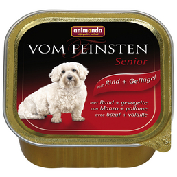 animondo Hunde Nassfutter »Vom Feinsten«, Rind / Geflügel, 22x150 g