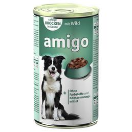 Amigo Hunde-Nassfutter, Wild, 1240 g