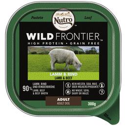 NUTRO Hunde Nassfutter »Wild Frontier«, 20 Schalen à 300 g