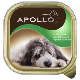 apollo Hunde Nassfutter, Wild / Pastete, 22x150 g