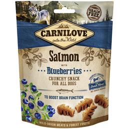 carnilove Hundesnack »Crunchy Snack«, 200 g, Lachs/Heidelbeere