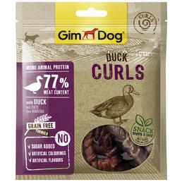 GIMDOG Hundesnack »Curls«, Ente, 6x55 g