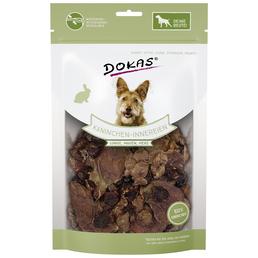 DOKAS Hundesnack »Kaninchen-Innereien«, Kaninchen, 7x100 g