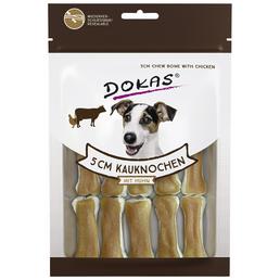 DOKAS Hundesnack »Kauknochen«, Huhn, 10x120 g