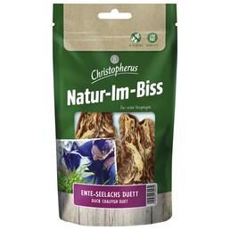 CHRISTOPHERUS Hundesnack »Natur-Im-Biss«, Ente  /  Seelachs, 12x70 g