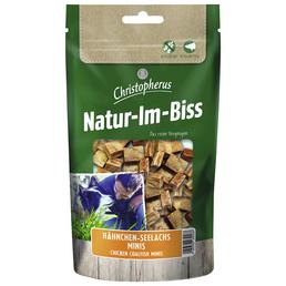 CHRISTOPHERUS Hundesnack »Natur-Im-Biss«, Hähnchen  /  Seelachs, 12x70 g