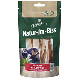 CHRISTOPHERUS Hundesnack »Natur-Im-Biss«, Huhn, 12x70 g