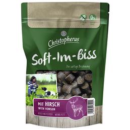 CHRISTOPHERUS Hundesnack »Soft-Im-Biss«, Wild, 125 g