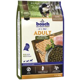 BOSCH Hundetrockenfutter »Adult«, Inhalt: 3 kg, gefluegel/Hirse