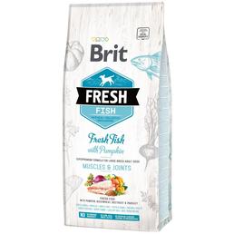 BRIT Hundetrockenfutter »Fresh Dog«, Fisch / Kürbis, 12 kg