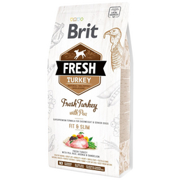 BRIT Hundetrockenfutter »Fresh Dog«, Fit & Slim, Truthan / Erbsen, senior