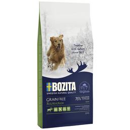 BOZITA Hundetrockenfutter »Grain Free«, Elch, 12,5 kg