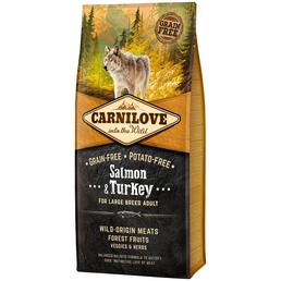 carnilove Hundetrockenfutter »Large Breed«, Lachs / Truthahn, 12 kg