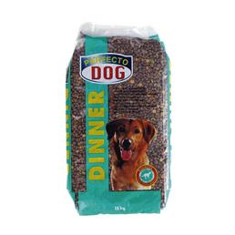 PERFECTO DOG Hundetrockenfutter »Perfecto Dog«, Inhalt: 15 kg, Fleisch