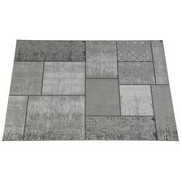 GARDEN IMPRESSIONS In- und Outdoor Teppich »Blocko«, BxL: 170 x 120 cm, dark sand/grau