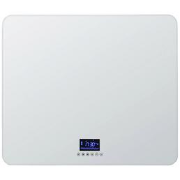 WELLWATER Infrarot Glasheizelement, max. Heizleistung: 0,5 kW, für Räume bis 15 m³
