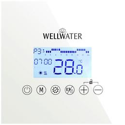 WELLWATER Infrarot Glasheizelement, max. Heizleistung: 800 w, (BxH): 6,7 x 120 cm
