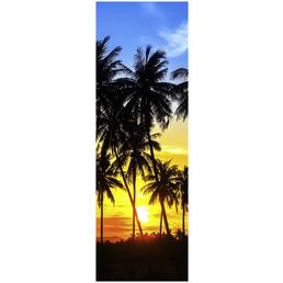 Papermoon Infrarotheizung »EcoHeat - Palmen   Sonnenuntergänge«, Glänzend