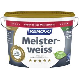 Innenfarbe »Meisterweiss«, Weiß, matt