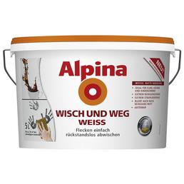 ALPINA Innenfarbe »Wisch und Weg«, 35 m² f
