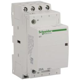 Schneider Electric Installationsschütz, 4-polig, Weiß, 25 A