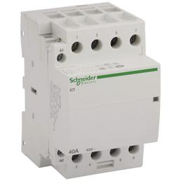 Schneider Electric Installationsschütz, 4-polig, Weiß, 40 A