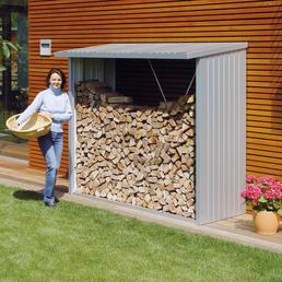 BIOHORT Kaminholzlager »WoodStock«, Außenmaße (BxTxH): 157 x102 x199  cm