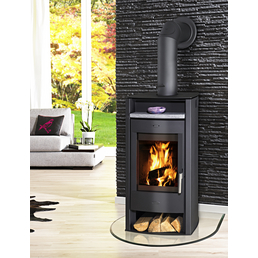 FIREPLACE Kaminofen »Paris«, Stahl, 6 kW