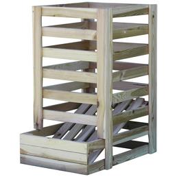 PROMADINO Kartoffelhorde, BxHxL: 54 x 70 x 40 cm, Holz