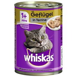 WHISKAS Katzen Nassfutter »1+ Jahre«, Geflügel, 12x400 g