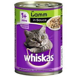WHISKAS Katzen Nassfutter »1+ Jahre«, Lamm, 12x400 g