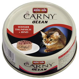ANIMONDA Katzen Nassfutter »Carny Ocean«, 12 Dosen à 80 g