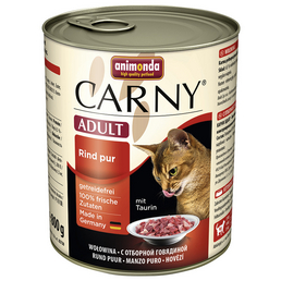 ANIMONDA Katzen Nassfutter »Carny «, Rind, 6x800 g
